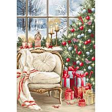 Наборы для вышивания крестом Luca S Рождественский интерьер Праздник Новый год