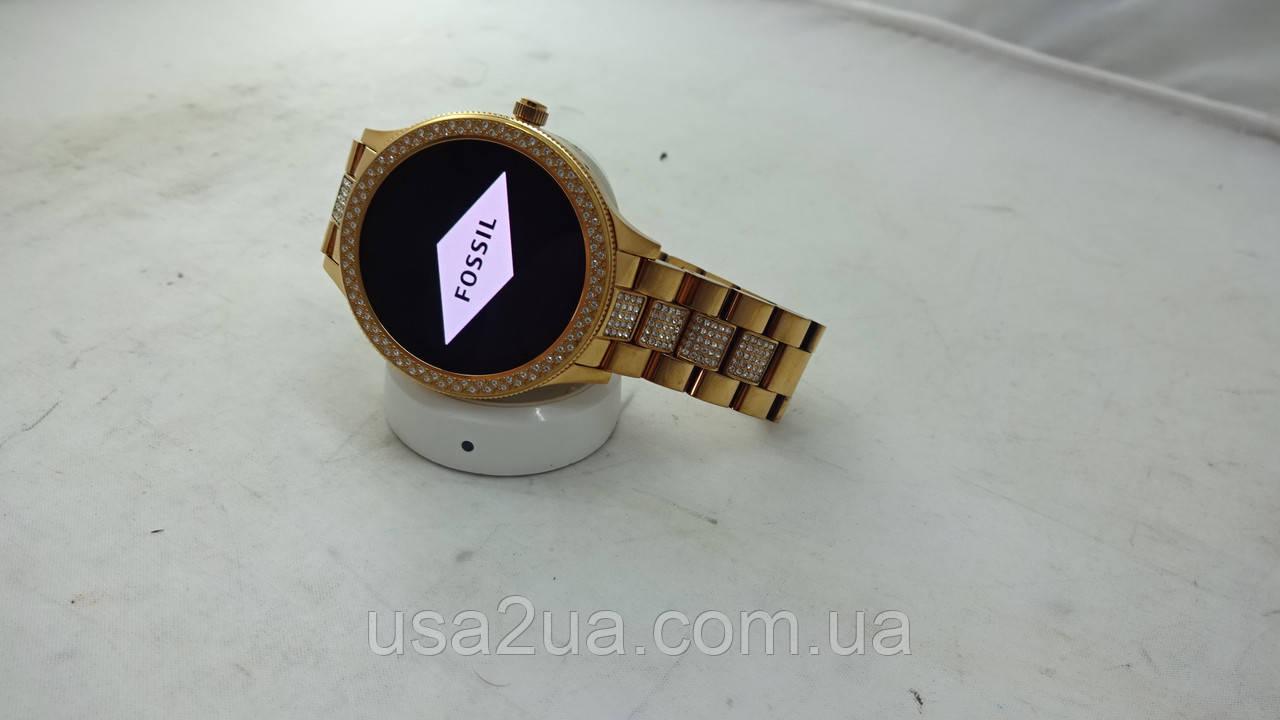 Элегантные Смарт Часы Fossil Q Venture smartwatch женские Кредит Гарантия Доставка