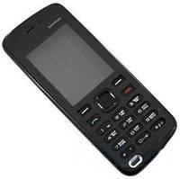 Корпус для Nokia 5220 с клавиатурой, черный