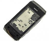 Корпус для Nokia Asha 305 с клавиатурой, черный