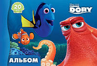 """Альбом для рисования Серия """"Дори"""" 20 л. Disney"""