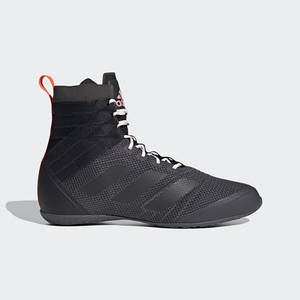 Взуття для боксу (боксерки) Adidas Speedex 18 (чорний, FW0385)