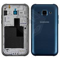 Корпус для Samsung Galaxy J1 J100H/DS, синий