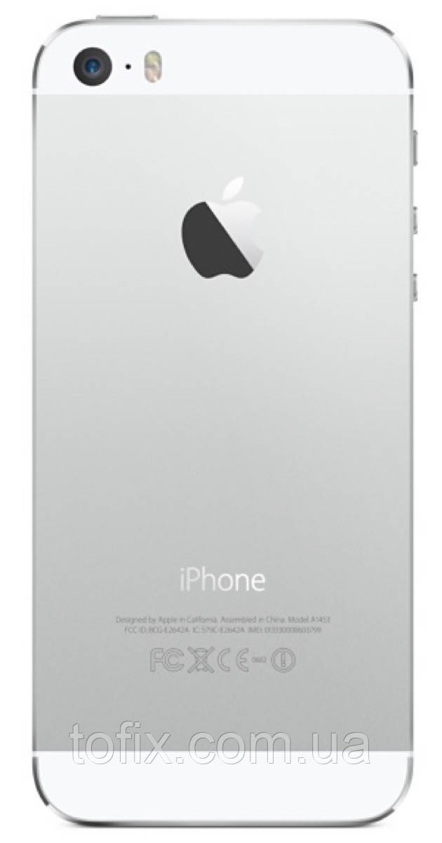 Корпус для Apple iPhone 5S, Silver, серебристый