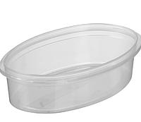 Судок пластиковый для пищевых продуктов с крышкой 300 мл (только по 300 штук)