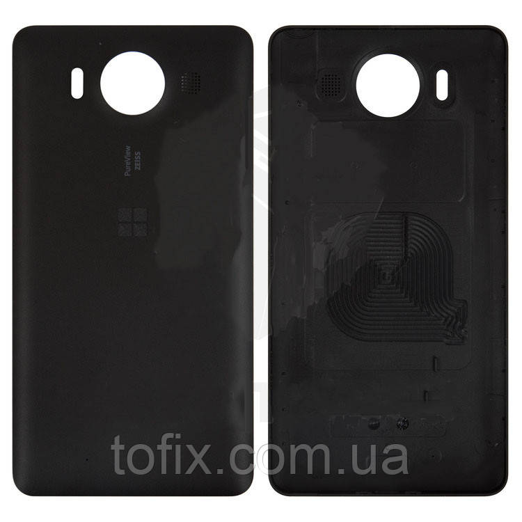 Задняя панель корпуса для Microsoft (Nokia) Lumia 950 Dual SIM, черная