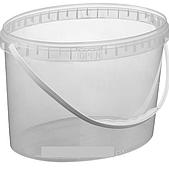 Ведро 11 л. пластиковое для пищевых продуктов