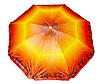 """Пляжный зонт с наклоном 2 м Anti-UF / Зонтик пляжный 2 метра """"ромашка"""" наклон, фото 3"""