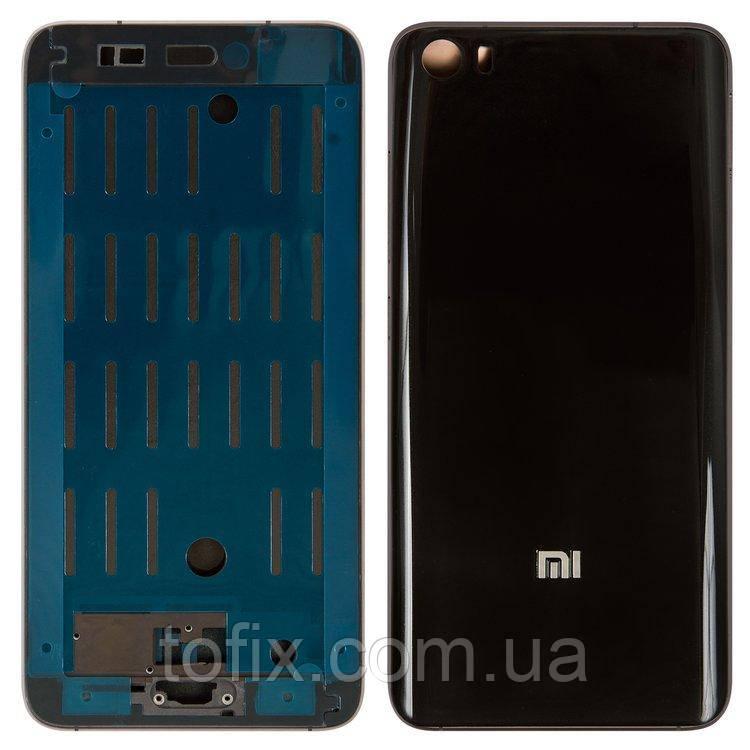 Корпус для Xiaomi Mi5, черный