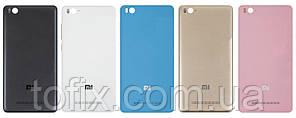 Задняя панель корпуса (крышка аккумулятора) для Xiaomi Mi4c, с держателем SIM и кнопками, оригинал