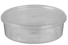 Судок пластиковый для пищевых продуктов с крышкой 500 мл