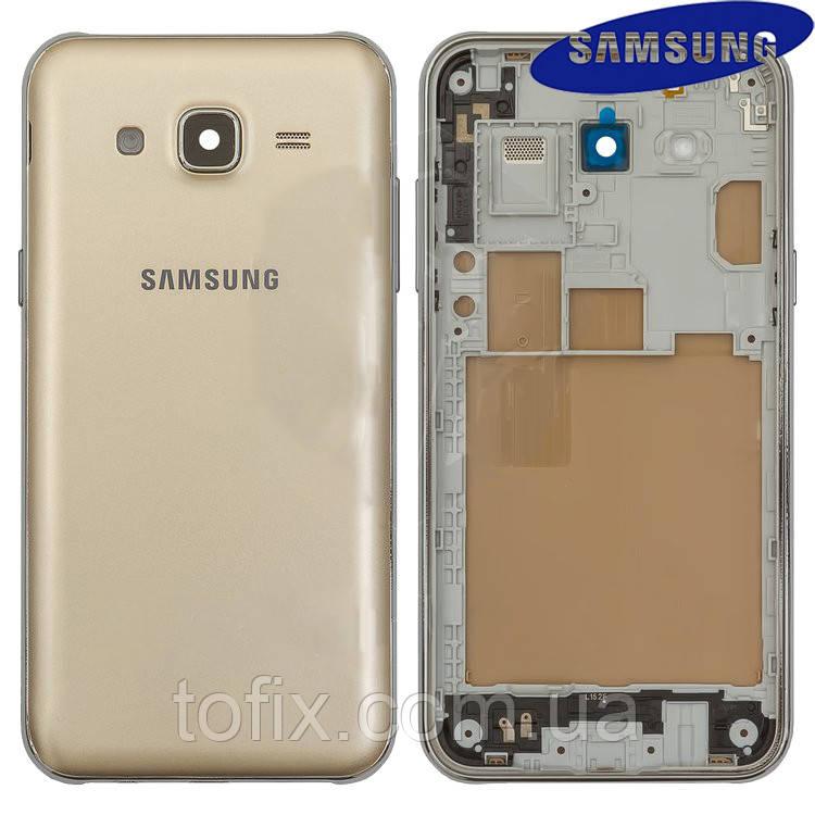 Корпус для Samsung Galaxy J5 J500H/DS, золотистый