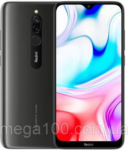 """Смартфон Xiaomi Redmi 8 цвет черный (""""6,22 экран; памяти 4/64GB, батарея 5000 мАч) глобальная версия"""