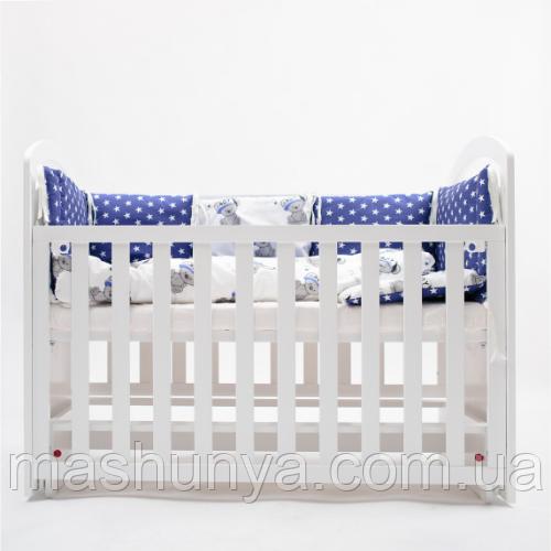 Детская кроватка Twins Bo-Bo с маятниковым механизмом