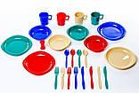 Набор посуды пластиковой на 4 персоны Tramp TRC-053, фото 4
