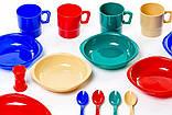 Набор посуды пластиковой на 4 персоны Tramp TRC-053, фото 5