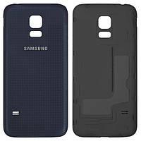 Задняя панель корпуса (крышка аккумулятора) для Samsung Galaxy S5 mini G800H, черный, оригинал (PRC)