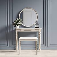 """Туалетний столик з дзеркалом та банкеткою """"Ренесанс Капучіно"""", фото 1"""