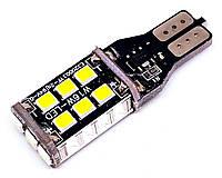Автолампа  LED диод SMD 2835, T15 W16W, 12В, 16Вт, Белый, фото 1