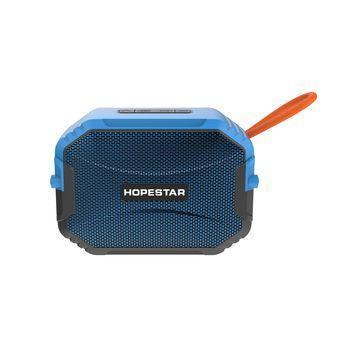 Колонка портативная компактная для телефона IPX6 Bluetooth HOPESTAR T8 синий