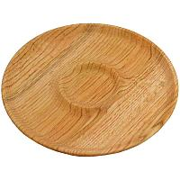 Доска для подачи шашлыков, Менажница деревянная, 40см