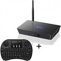 Мультимедийная смарт приставка медиаплеер для телевизора SNB Box X92 2/16 ГБ андроид тв бокс+клавиатура i8, фото 1