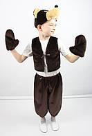 Карнавальный костюм Мишка №2 (шоколад)