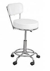 Кресло парикмахерское Uwa 373 white