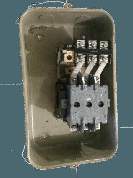 Пускатель электромагнитный ПМА-3212 380В