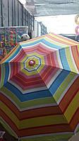 Зонт пляжный 200 см + чехол+ бур