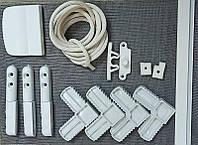 Набор комплект для сборки дверной москитной сетки на петлях самостоятельно