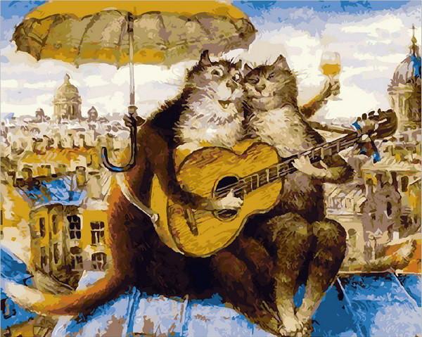 Картина за номерами Mariposa Петербурзький романс 40*50 см арт.MR-Q1818