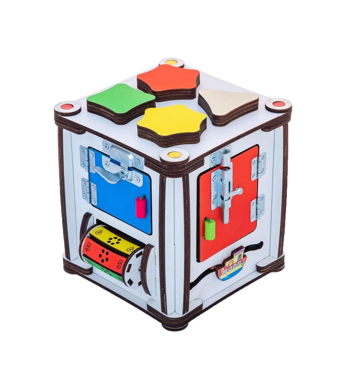 Кубик развивающий 17х17х18 с подсветкой