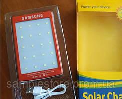Power bank solar samsung 40000 mah с солнечной батареей, Красный