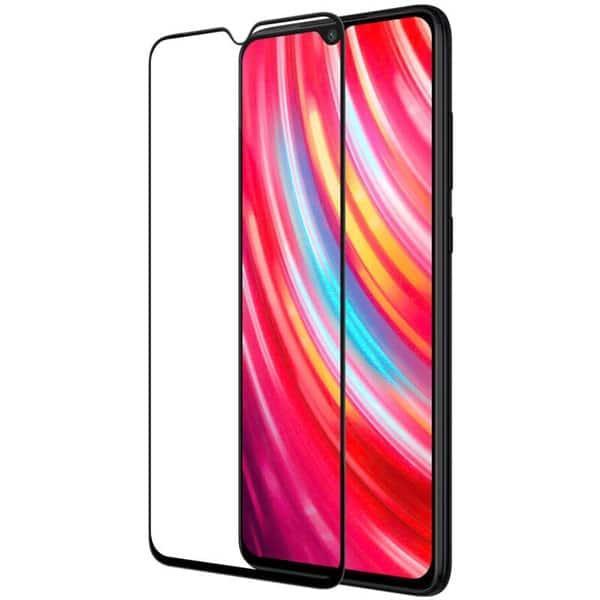 Защитное стекло colour Full Glue Xiaomi Redmi Note 8T без упаковки (black)