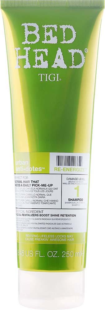 Шампунь для норм. волосы ежедневного использования Tigi RE 250 мл