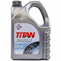 Трансмісійне масло FUCHS TITAN SUPERGEAR 80W-90 4л
