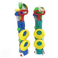 Гольф набор 2 цвета в сетке 383-21