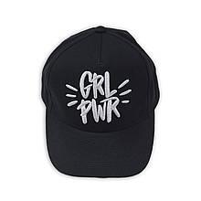 Детская черная кепка с надписью для девочки, возраст 3/5 лет
