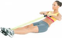 Эспандер тренажер резиновый для тренировки рук и ног