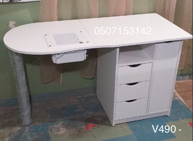 Стол для мастера маникюра Модель V490 с вытяжкой Teri500