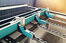 Пильный центр Giben Starmatic бу 2000г. для раскроя ДСП пакетами или единичными плитами, фото 9