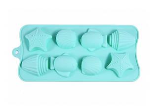 Форма для льда и шоколада 18x10x2 см Fissman 6550
