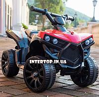Детский электромобиль квадроцикл на аккумуляторе Bambi M 3638 красный