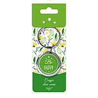 Брелок сувенирный на ключи BeHappy с надписью Be Happy 008.3.1, КОД: 1328836