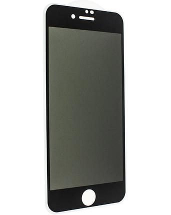 Защитное стекло Privacy Tempered Glass для iPhone 7/8 Black, фото 2