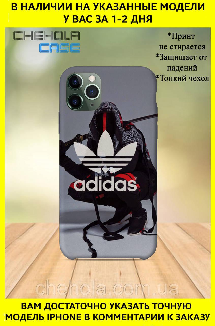 Чехол для iphone 11 Pro Max Pro в стиле Adidas Адидас Полоски