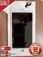 Дисплейный модуль для iPhone 6s plus белый (LCD экран, тачскрин, стекло в сборе) копия white