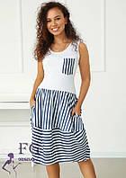 Пляжное легкое платье  034 В