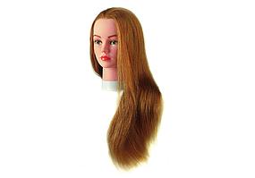 Голова навчальна русява (натуральні волосся, 55-60см) JULIE Sibel 0040601